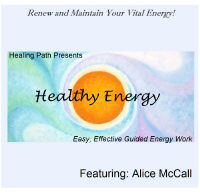 Healthy Energy by Alice McCall CD cover