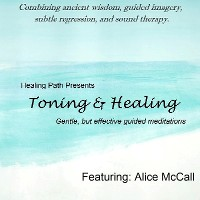 Toning & Healing by Alice McCall CD cover